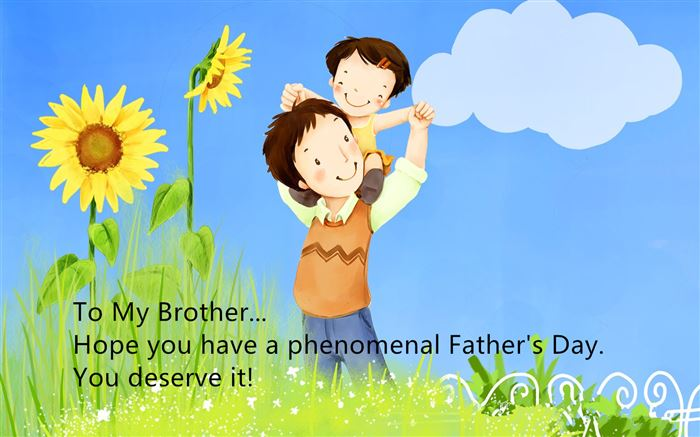 Best Happy Father's Day Greeting Messages For Brothers