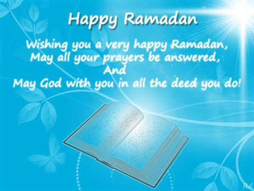 Easy Ramadan Greetings Message In English