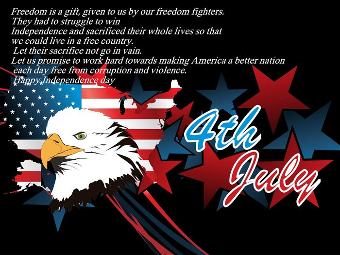 Inspirational USA Independence Day Status Messages For Facebook