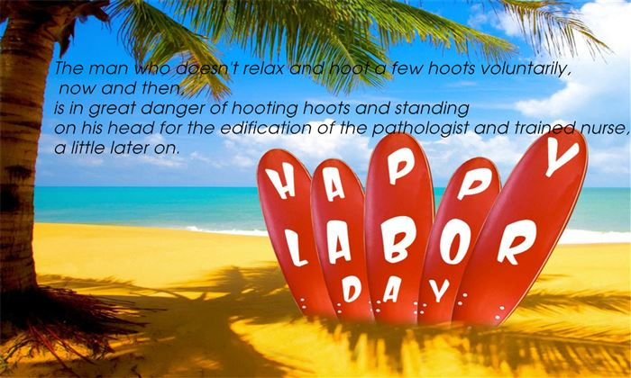 Best Funny Happy Labor Day Messages