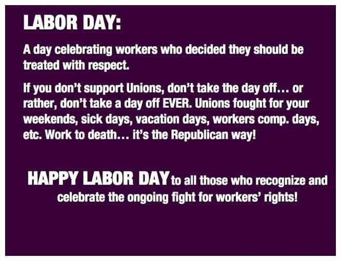 Meaningful Happy Labor Day Weekend Safety Message