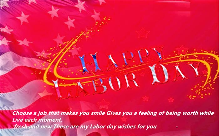 Inspirational Happy Labor Day Wishes For Facebook