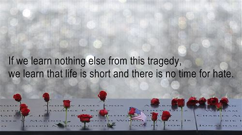 Meaningful September 11th Memorial Quotes