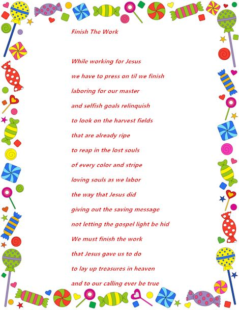Famous Christian Happy Labor Day Poems