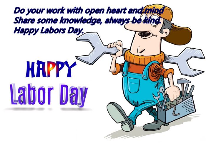 Meaningful Happy Labor Day Message To Workers