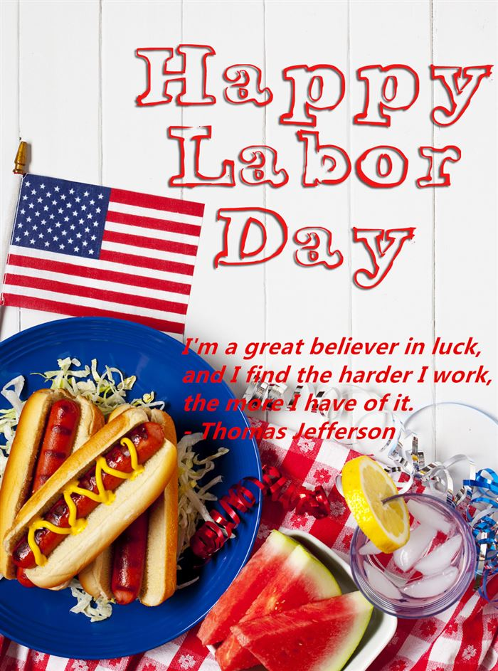 Inspirational Happy Labor Day Sayings