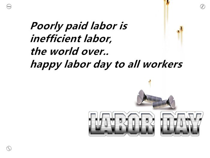 Unique Happy Labor Day Wishes To Employees