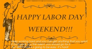 Top Happy Labor Day Weekend Messages
