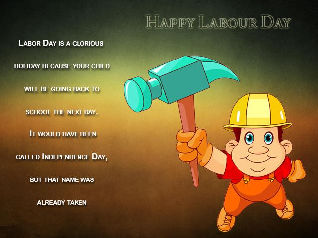 Top Humorous Happy Labor Day Poems