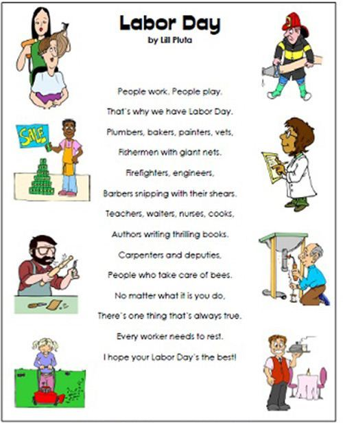 Best Free Humorous Happy Labor Day Poems