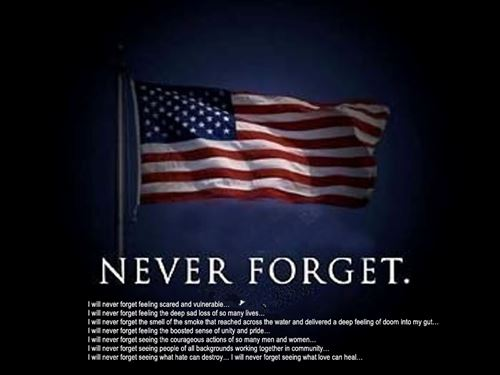 Famous We Will Never Forget September 11 Quotes