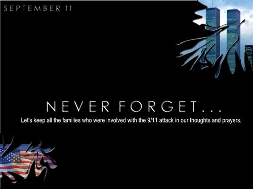 Short We Will Never Forget September 11 Quotes