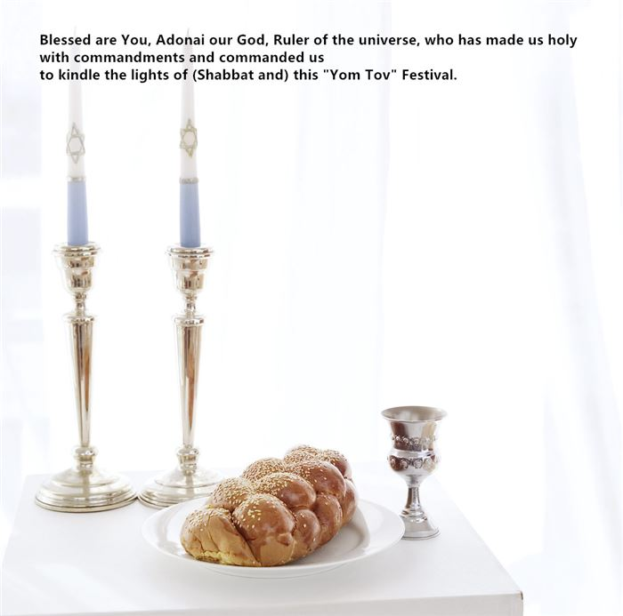Inspirational Blessing For Rosh Hashanah Candles