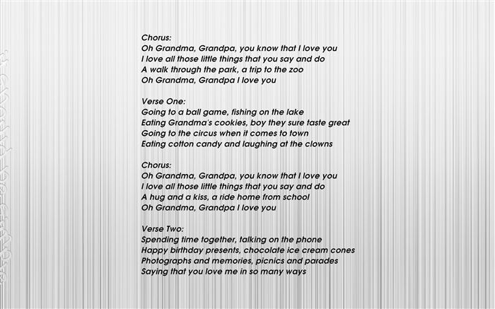Best Grandparents Day Poems And Songs For Kids