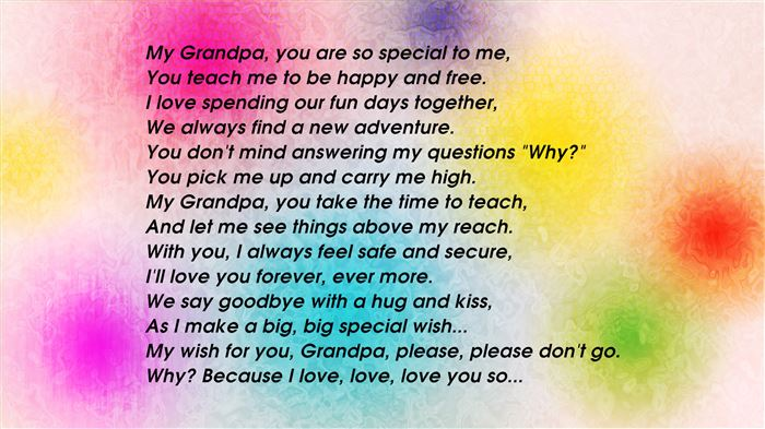 Meaningful Grandparents Day Poems And Songs For Kids