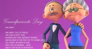 Best Grandparents Day Prayers For Kids