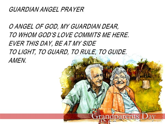 Inspirational Grandparents Day Prayers For Kids