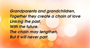 Best Poems For Grandparents Day From Grandchildren