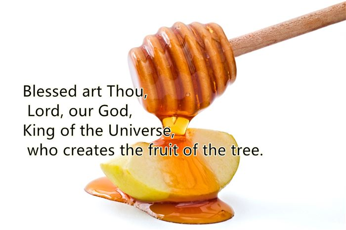 Meaningful Rosh Hashanah Apples And Honey Blessing