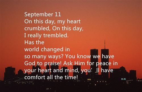 Meaningful Short September 11th Poems