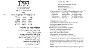 Blessing Prayer For Rosh Hashanah In English