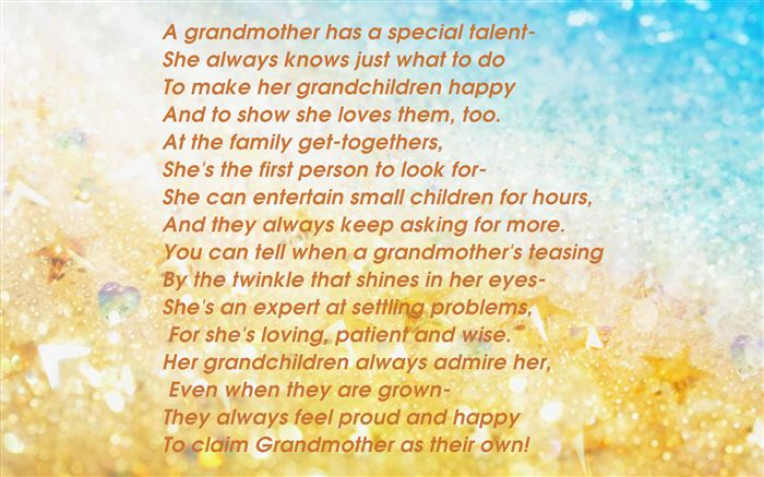 Best Free Poems For Grandparents Day From Preschools