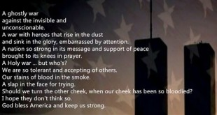 Inspirational September 11th Never Forget Poems