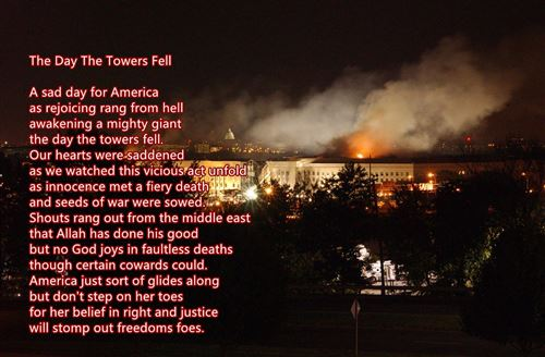 Famous September 11th Never Forget Poems