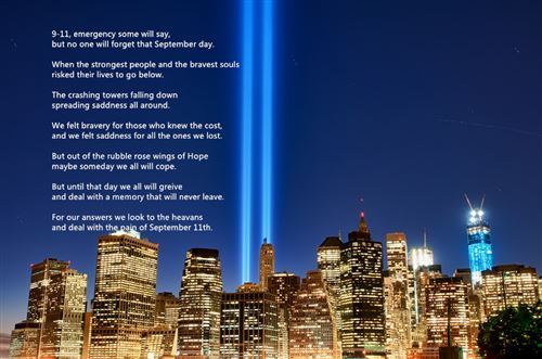 Meaningful September 11th Never Forget Poems