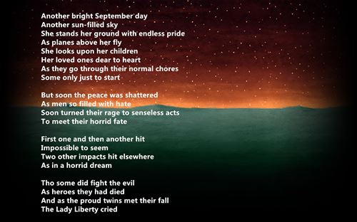 Meaningful September 11th Poems Written By Children