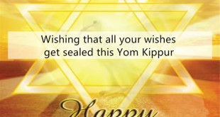 Meaningful Yom Kippur Greetings In English