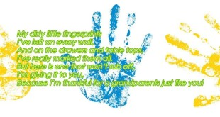 Top Free Handprints Grandparents Day Poems For Kids