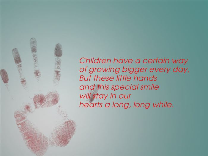 Meaningful Free Handprints Grandparents Day Poems For Kids