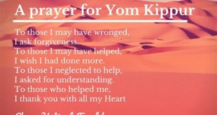 Top Yom Kippur Prayers And Blessings