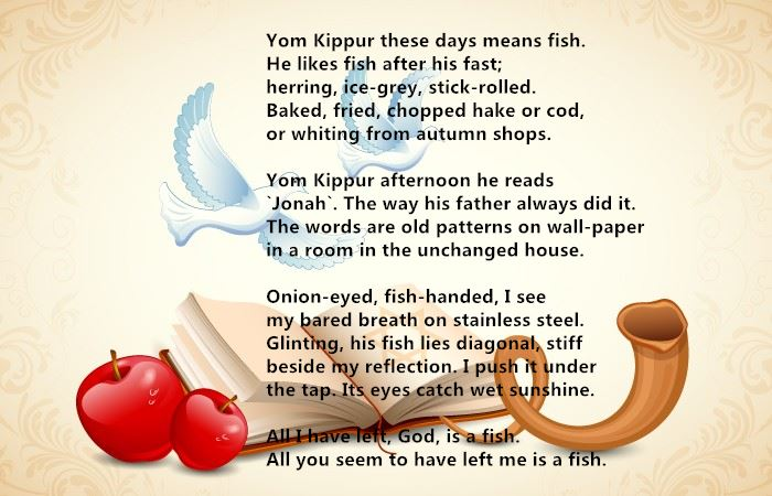 Best Free Yom Kippur Poems For Children