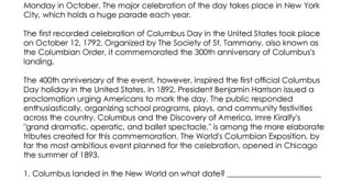 Best Columbus Day History Lesson