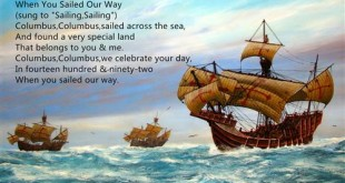Best Columbus Day Poems Songs For Kids