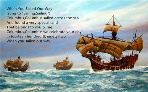 Free Columbus Day Poems Songs For Kids