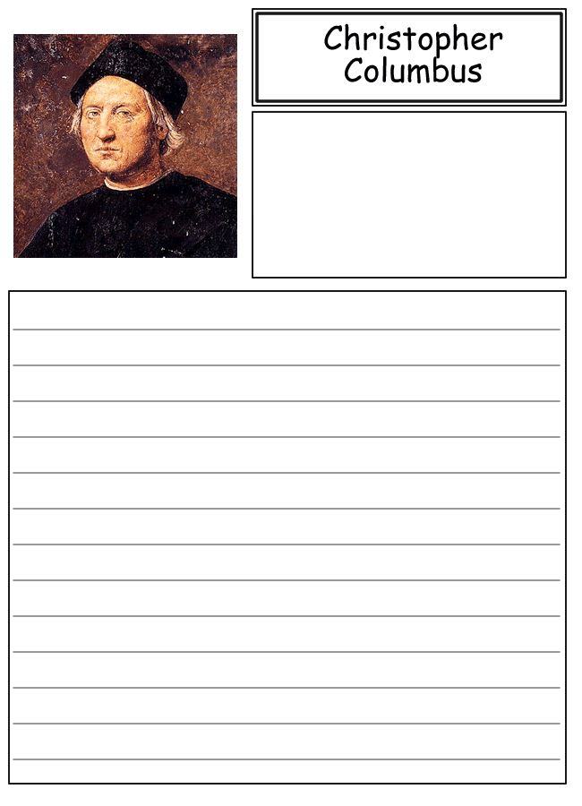 Best Columbus Day Worksheets For Second Grade