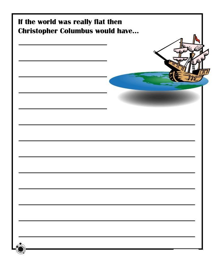 Unique Columbus Day Worksheets For Second Grade