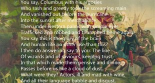 Best Free Columbus Day Poems For Kids