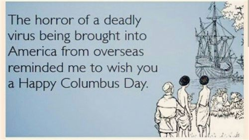 Best Funny Columbus Day Ecard