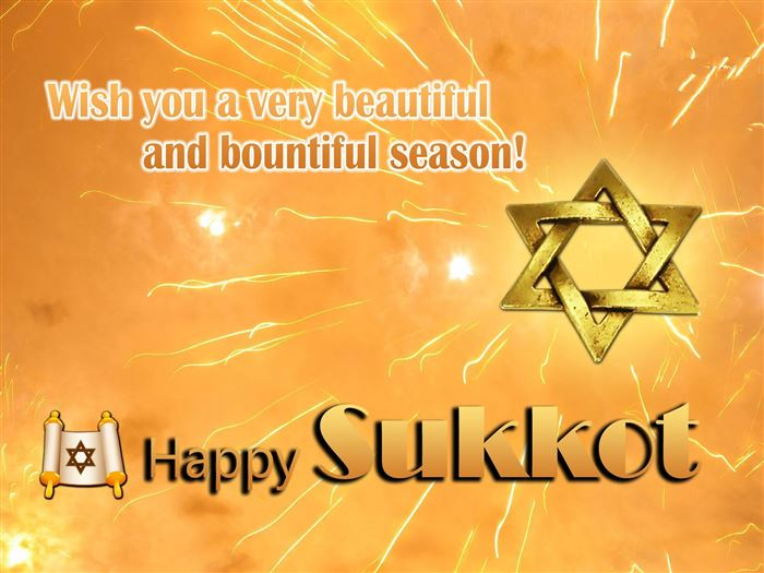 Best Happy Sukkot Greeting Wishes