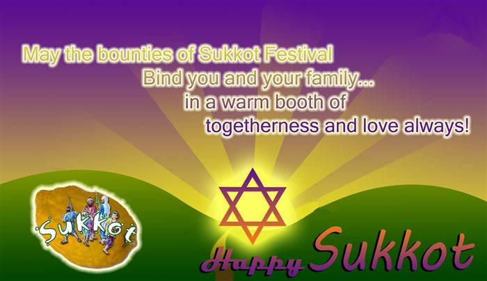 Meaningful Happy Sukkot Greeting Wishes