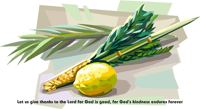 Meaningful Happy Sukkot Lulav And Etrog Prayer