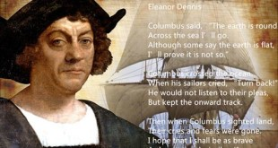 Famous Columbus Day Poems For Children