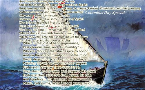 Famous Columbus Day Poems For Elementary