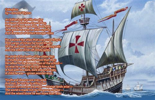 Meaningful Columbus Day Poems For First Graders