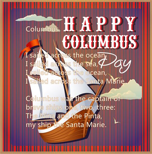 Best Columbus Day Poems For Preschool Free