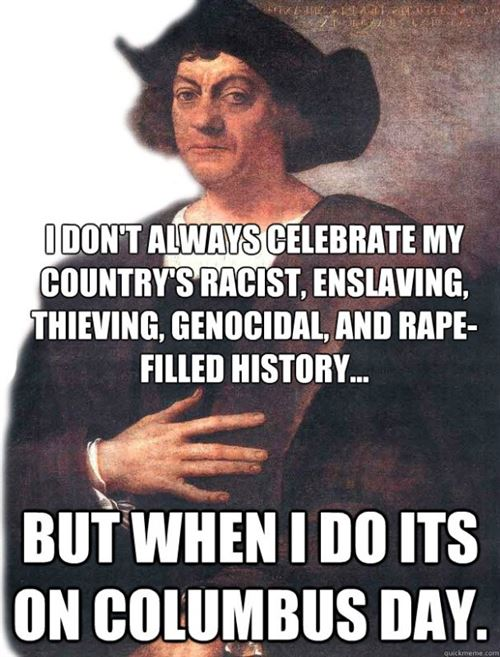Best Funny Columbus Day Quotes